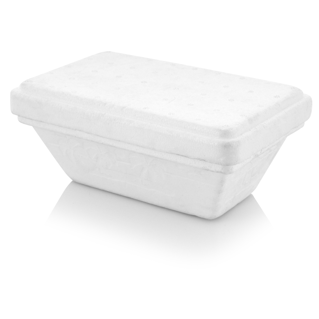 Foam Ice Cream Container White Vsf Hellas Sa